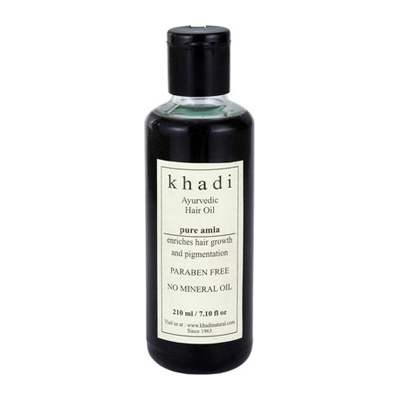 Buy Khadi Herbal Pure Amla Hair Oil ( WITHOUT MINERAL OIL ) online United Kingdom [ UK ]