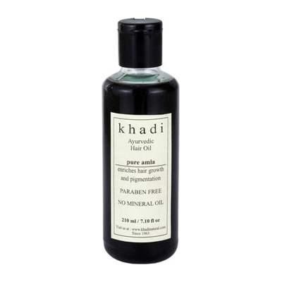 Buy Khadi Herbal Pure Amla Hair Oil ( WITHOUT MINERAL OIL ) online United Kingdom [ UK ]