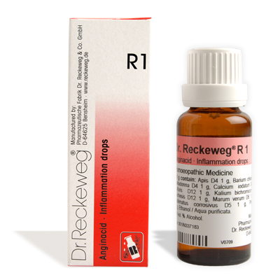 Buy Dr.Reckeweg Homeopathy R1 Inflammation Drops online United Kingdom [ UK ]